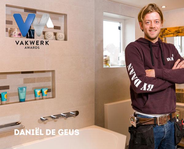 Vakwerk Awards genomineerde Daniël de Geus