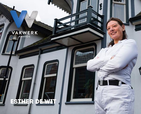 Vakwerk Awards genomineerde Esther de Wit
