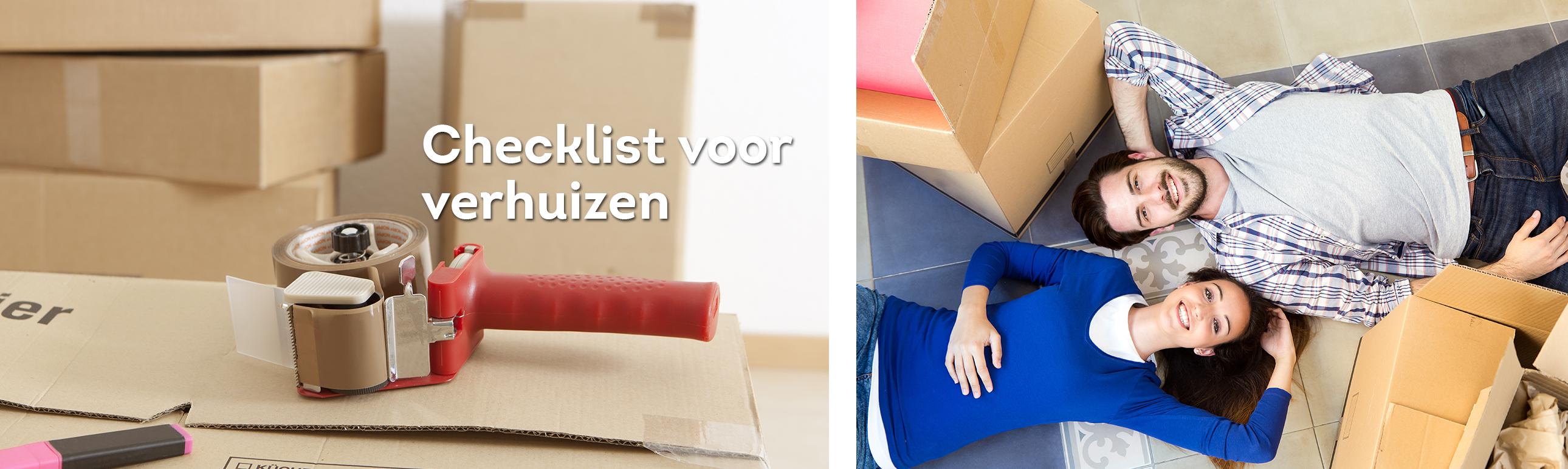 Verbouwen of verhuizen met for Checklist verhuizen